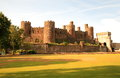 Conwy castle uk is a medieval fortification in wales Stock Photo