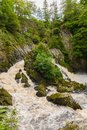 Conwy Falls North Wales Royalty Free Stock Photo