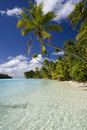 Cook Islands - Aitutaki Lagoon Stock Images