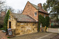 Cook s cottage in fitzroy gardens in melbourne australia is the oldest building in the country built by the parents of the famous Royalty Free Stock Images