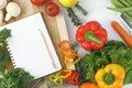 Cookbook Royalty Free Stock Photo