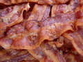 Cooked Bacon Royalty Free Stock Photo