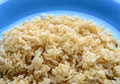 Cooked brown rice Royalty Free Stock Photo