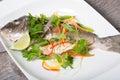 Cooked dorado fish