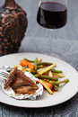 Cooked duck fillet Royalty Free Stock Photo