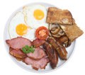 Cooked English Breakfast Royalty Free Stock Image