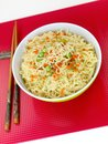 Cooked Instant Noodles Royalty Free Stock Photos