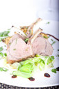 Cooked lamb