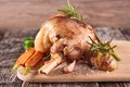 Cooked lamb chop