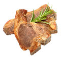 Cooked Lamb Chops Royalty Free Stock Photo