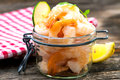 Cooked shrimps Royalty Free Stock Photo