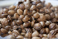 Cooked snails at the Jamaa el Fna market Royalty Free Stock Images