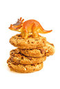 Cookie Dinosaur Stock Photography