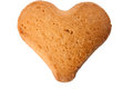 Cookie heart Royalty Free Stock Photography