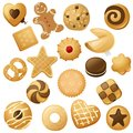 Cookie icons Royalty Free Stock Photo