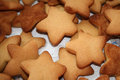 Cookie there will be baked into the christmas cookies Royalty Free Stock Photography