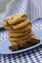 Cookie Tower Royalty Free Stock Photography