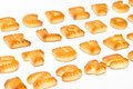 Cookies ABC letters Royalty Free Stock Photo