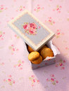 Cookies in box Royalty Free Stock Photos