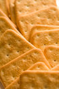 Cookies closeup with blurs simple composition at daylight Royalty Free Stock Images