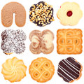 Cookies Collection Royalty Free Stock Photo