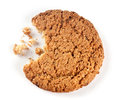 Cookies and crumbs Royalty Free Stock Photo