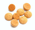 Cookies de amêndoa italianas tradicionais amaretti Imagens de Stock Royalty Free
