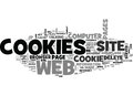 Are Cookies Evil What Service Do Cookies Perform In A Web Browser Word Cloud