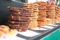 Cookies/galanteryjni Torty Zdjęcia Stock