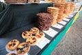 Cookies/galanteryjni Torty Zdjęcie Stock