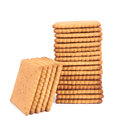 Cookies isolated on a white background Royalty Free Stock Photography