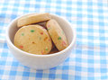 Cookies old retro vintage style Stock Photography
