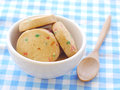 Cookies old retro vintage style Royalty Free Stock Photography