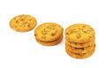Cookies with peanuts Royalty Free Stock Photo
