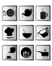 cooking icon set. Royalty Free Stock Photo