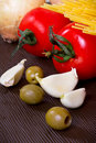 Cooking Italian Stock Images