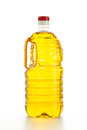 Cooking oil close up of on white background Stock Photos