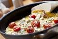 Vaření omeleta