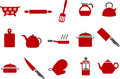 Cooking Tools Icon Set Stock Images