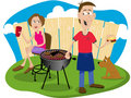 Cookout Stock Photo