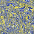 Cool abstract liquid texture. combination of blue and yellow