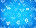 Cool blue floral background Stock Image