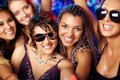 Cool clubbers Stock Images
