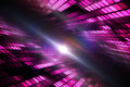 Cool disco design in pink Stock Images