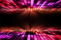 Cool disco design in purple and red Royalty Free Stock Image