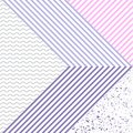 Cool geometric backgrounds for your design in violet. Applicable for Banners, Placards, Posters, Flyers etc. Stock vector. Royalty Free Stock Photo