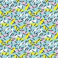 Cool geometry seamless pattern vector illustration