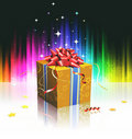 Cool gift box Royalty Free Stock Images