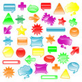 Cool icons Royalty Free Stock Images
