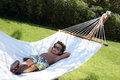 Cool Kid - Relaxing Hammock Stock Photos